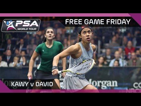 Squash: Free Game Friday - Kawy v David - Tournament of Champions 2016