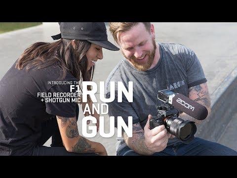 The Zoom F1 Field Recorder+Shotgun Mic