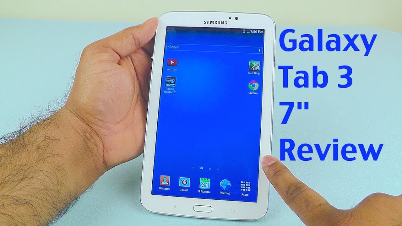 Samsung Galaxy Tab 3 7 0 Review - with Latest Firmware Update