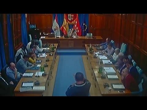 Sesión ordinaria del Pleno Municipal de 25 de octubre de 2018
