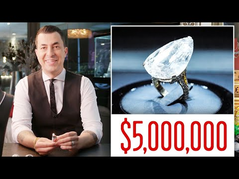 Expert Jeweler Jason Of Beverly Hills Shows Off His Insane Jewelry Inventory | GQ