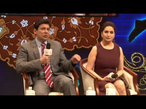 Empowering Art Digitally  Fireside Chat Madhuri Dixit, Dr Nene  UCLA Cardio Vasculr , Anand Desai, D