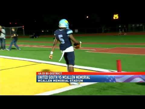 McAllen Memorial holds home field, defeats Laredo United South