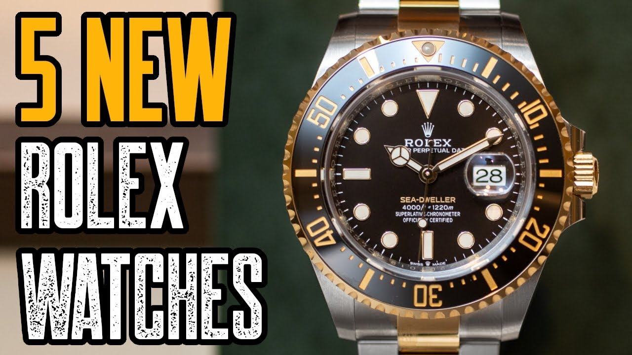 3fd9043a57e TOP 5: NEW ROLEX Watches 2019! - YouTube