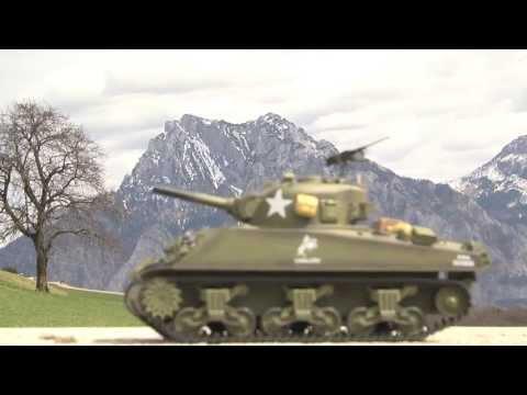 Panzer U.S. Sherman M4A3 1/16 Von HENG LONG: 9700681, 9700682