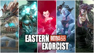 Eastern Exorcist - All Bosses & ENDING (PC)