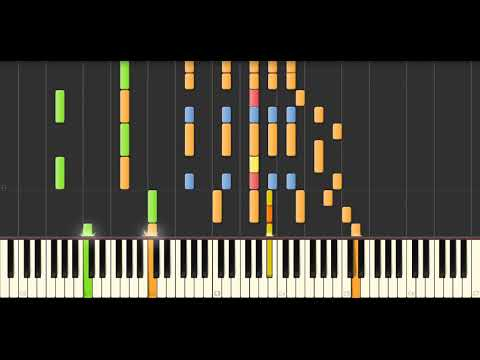 Pink floyd - Bike | Synthesia