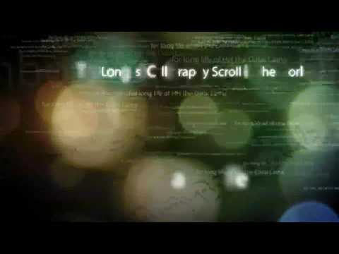 World Record Calligraphy Scroll Exhibition - Web Promo