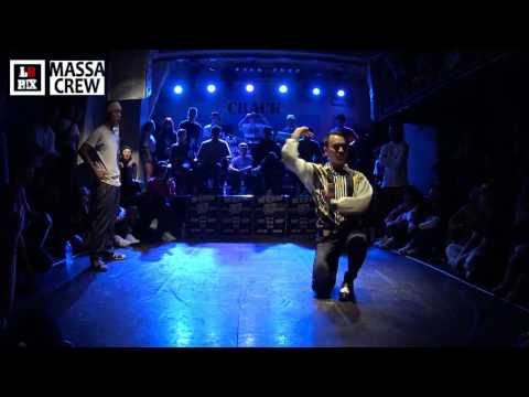TOP 16-3ZAPPY vs AKUMA DIVAw @ SWAY ON THE BEAT Vol.2 Freestyle 1vs1 Battle | LB-PIX