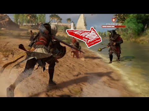 Assassin's Creed Origins - World Boss Battle (Ptolemy's Fist/Phylake)