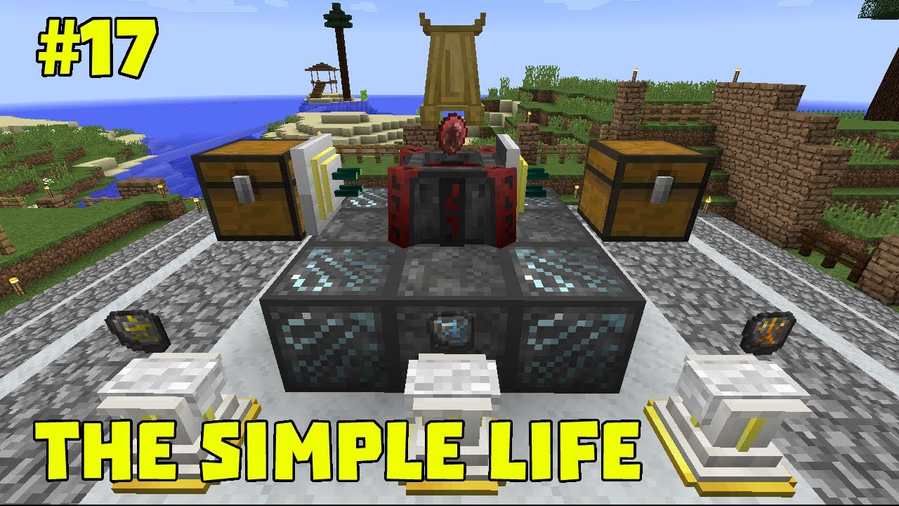 The Simple Life - Revival :: #17 :: Blood Magic Divination/Water/Lava Sigil :: Modded Minecraft 1.10
