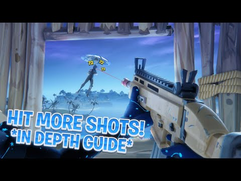 [IN-DEPTH] How To IMPROVE Your AIM In Fortnite... (Aim Guide W/ Tracking, Sensitivity, Etc...)