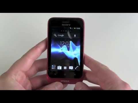 Sony Xperia tipo einrichten und erster Eindruck