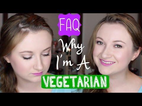 Why I'm A Vegetarian + FAQ | Diet Collab w/ KezziesCorner
