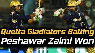 Quetta Gladiators Full Batting | Eliminator 1 | Quetta Gladiators Vs Peshawar Zalmi | HBL PSL 2018