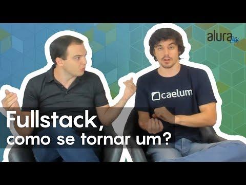 Alura Live #58 - O caminho do desenvolvedor Fullstack, como se tornar um?