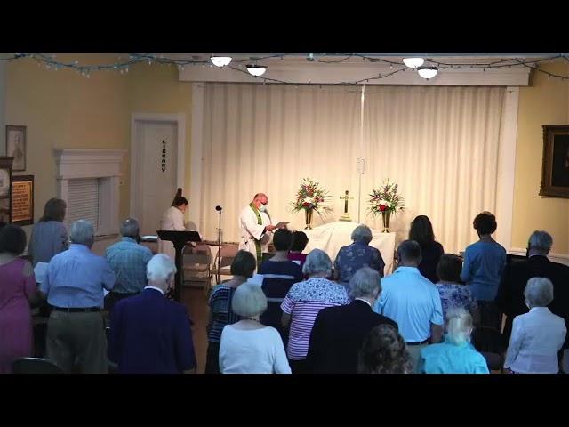 St. John's service September 5, 2021