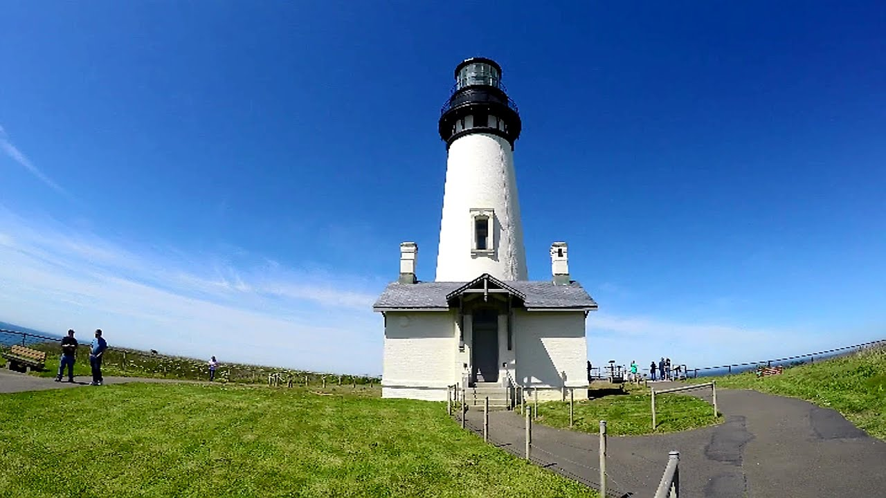 Newport Oregon Lighthouse Tour