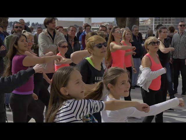 Zumba Marathon Dan Žena Split Riva Croatia International Woman's Day