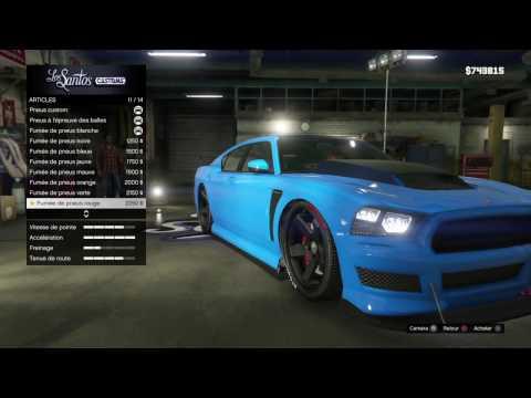 GTA 5  #1 :Tuning de la voiture de Franklin