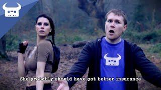Repeat youtube video TOMB RAIDER RAP - Dan Bull / Lara Croft