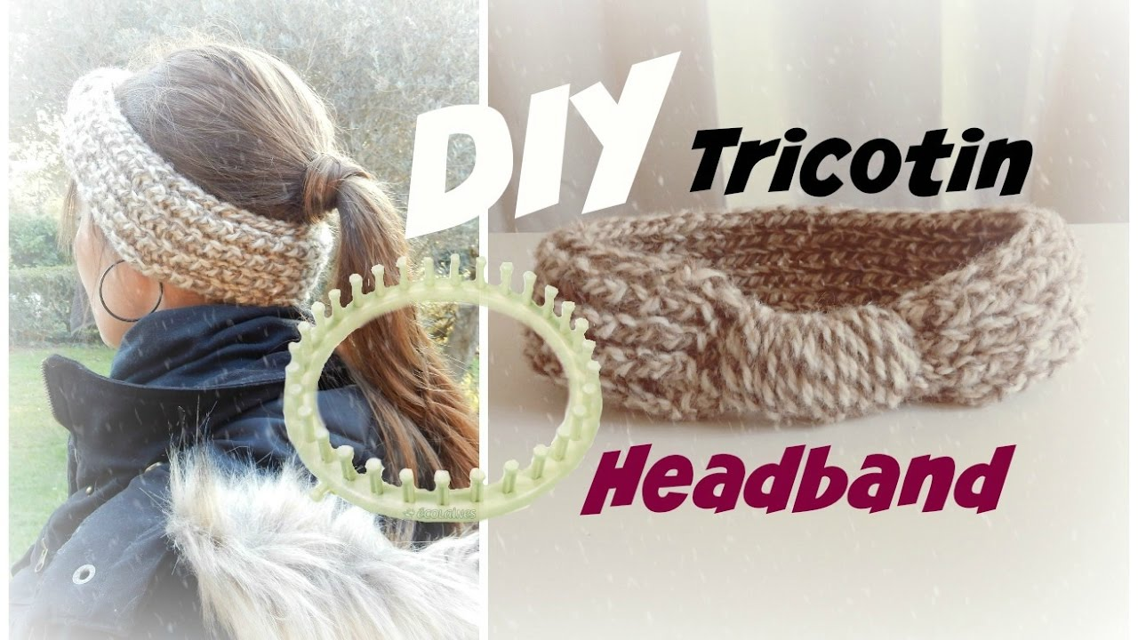 Souvent Tricotin - Headband - YouTube WM88