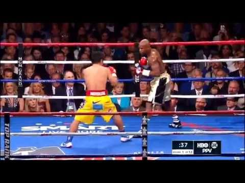 Mayweather vs Pacquiao Highlights