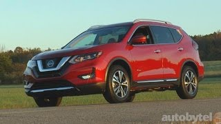 2017 Nissan Rogue Hybrid SL Test Drive Video Review