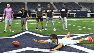 dp vs nfl battle   dude perfect