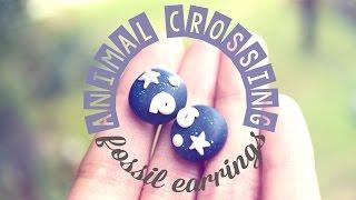 Diy ♥ Animal Crossing Fossil Earrings