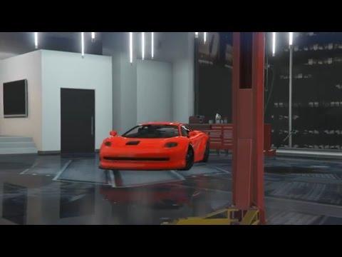 Gta 5 Office Garage Tour Youtube