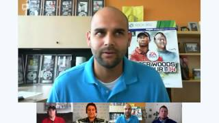 Hangout with the EA Sports Tiger Woods PGA TOUR Game Designers