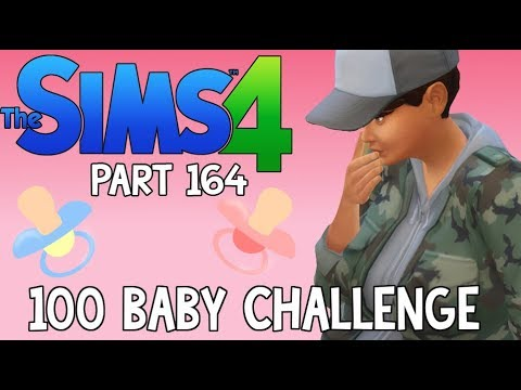 The Sims 4: 100 Baby Challenge - FINALLY A BABY GIRL (Part 164)