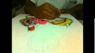 Drawing Grim [Billy& Mandy]