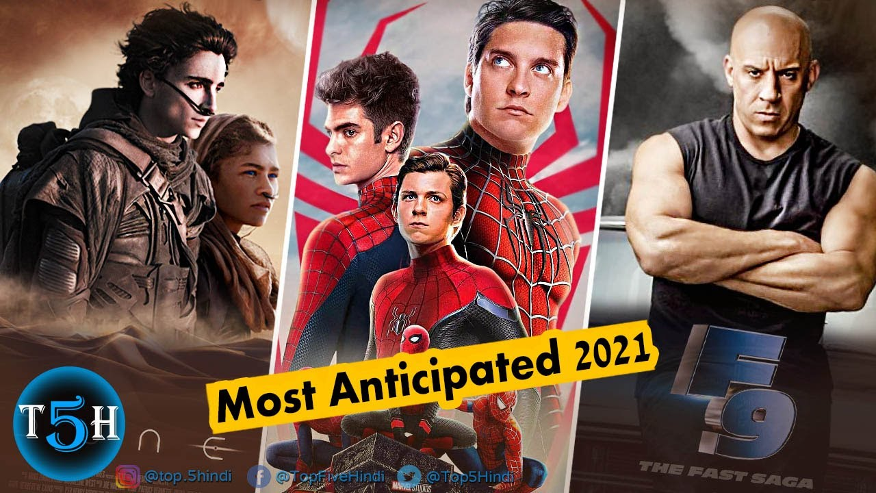 Top 5 Most Anticipated Hollywood Movies of 2021 | Release in Hindi || Top 5 Hindi