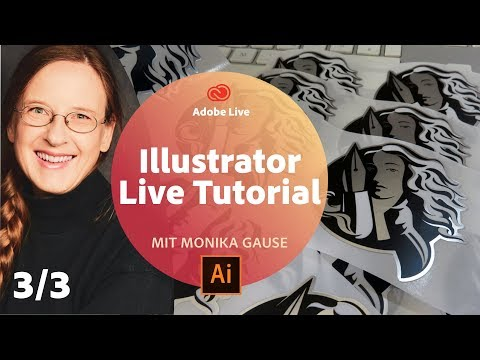 Illustrator Live Tutorial / mit Monika Gause - Adobe Live 3/3 thumbnail
