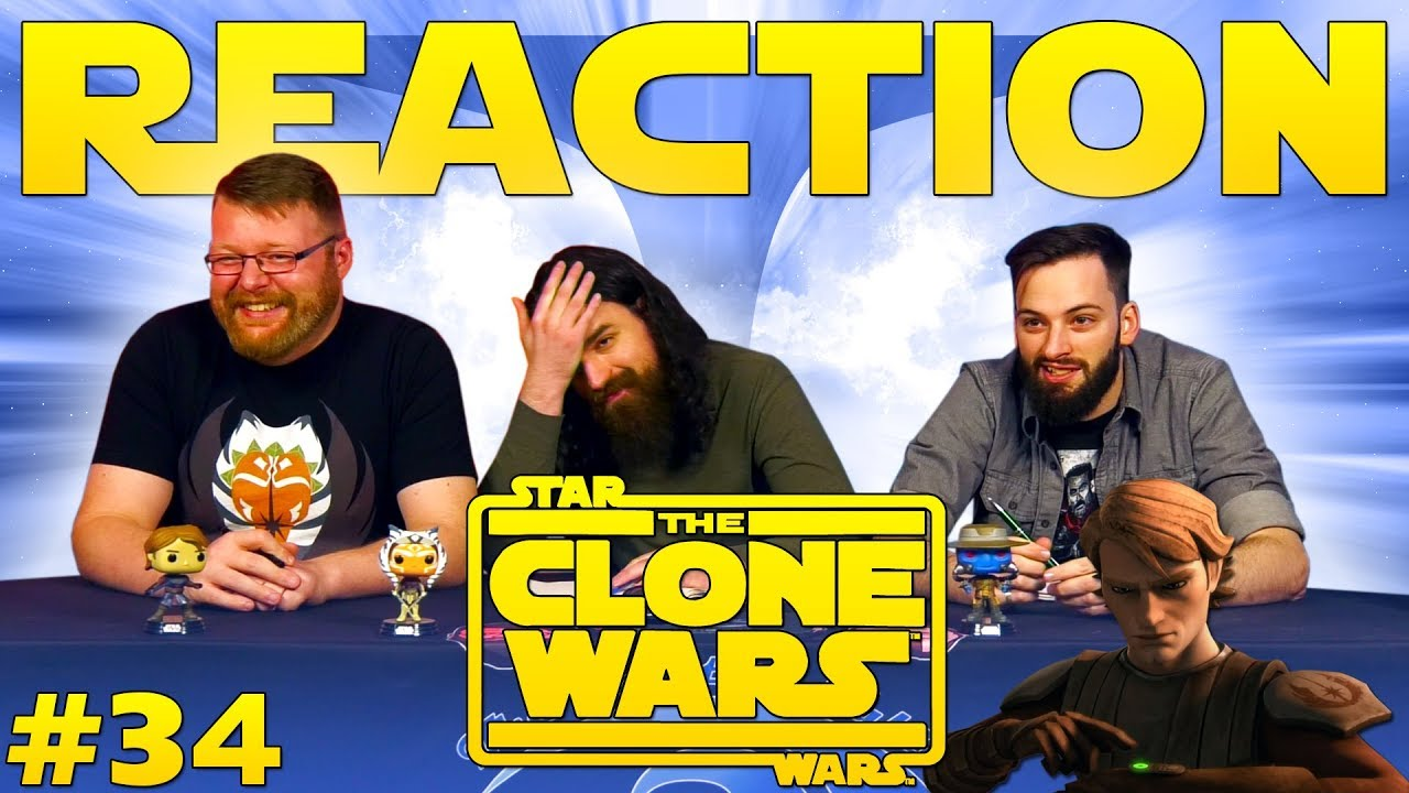 Star Wars: The Clone Wars #34 REACTION!!