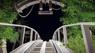 Planet Coaster: Tropical POV night