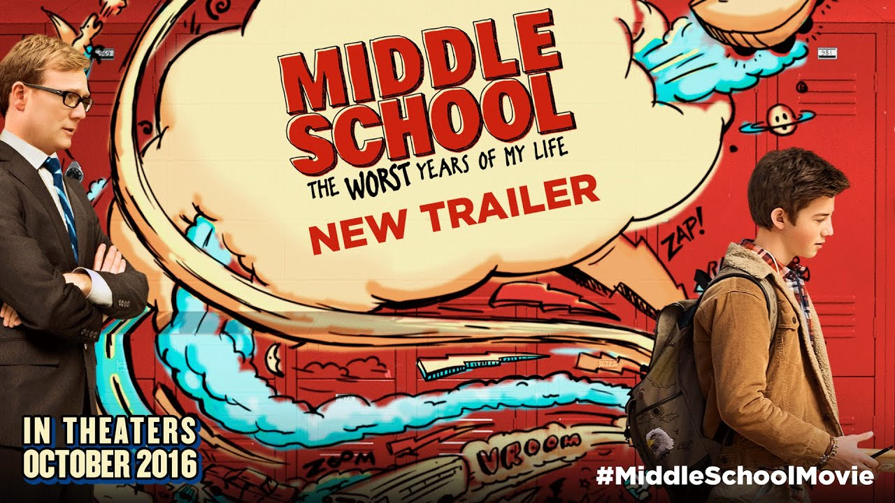 Download MIDDLE SCHOOL: The Worst Years of My Life - Official Movie Trailer HD