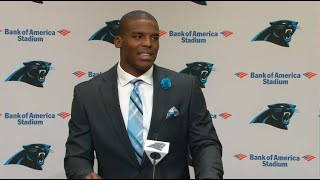 Cam Newton: I can take the Panthers to the promised land