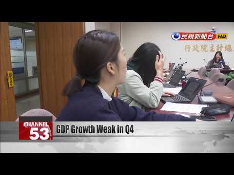 Taiwan posts worst quarterly GDP growth in two years
