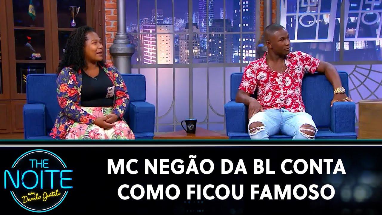MC Negão da BL conta como ficou famoso   The Noite (06/08/20)