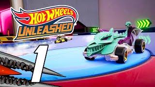 Hot Wheel Unleashed - Full Game Gameplay Walkthrough Part 1 - Career Mode (PS5)