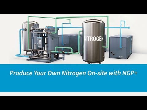 Atlas Copco Compressors | Produce Your Own Nitrogen On-site With NGP+