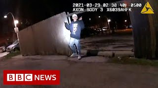 Chicago police release video of officer shooting Adam Toledo - BBC News