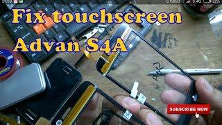 Ganti touchscreen advan S4A# how to replace touchscreen advan S4A