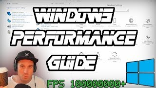 windows Performance Guide And More