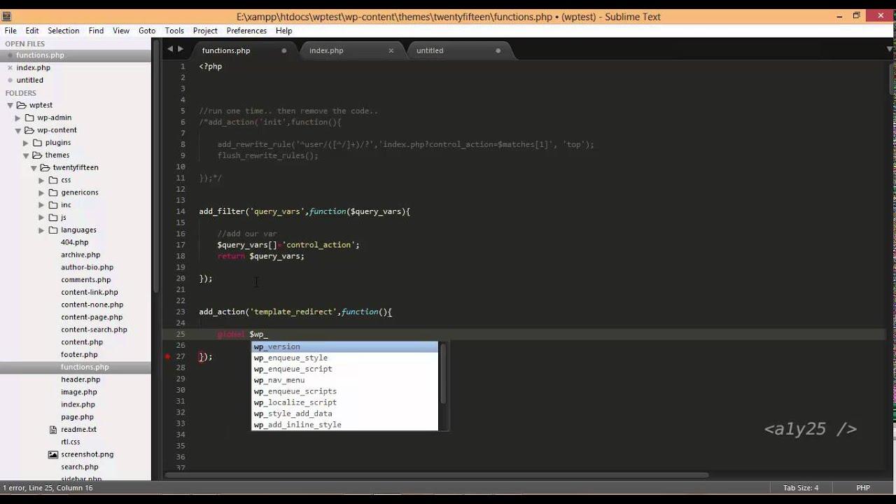 Wordpress development user login register query vars template wordpress development user login register query vars template redirect action maxwellsz