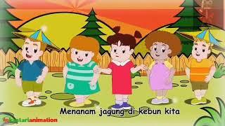 Lagu anak-anak Menanam jagung|Kids Music