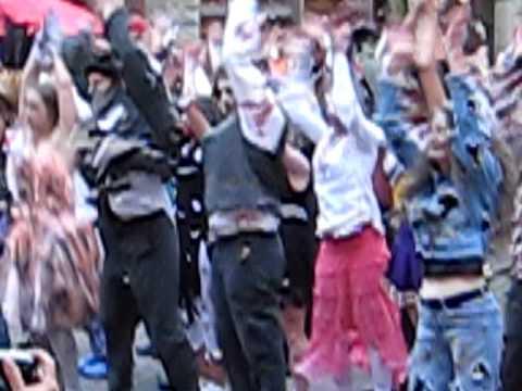 Seattle Thriller Dance Pioneer Square
